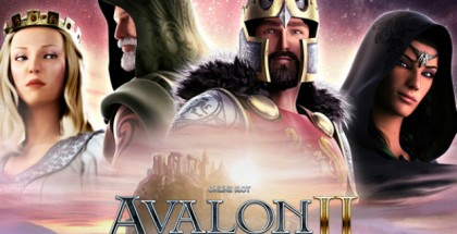 Optjen freespins ved at spille Avalon II hos Maria Casino
